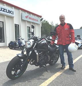 satisfied motorcycle training customer Denver Colorado